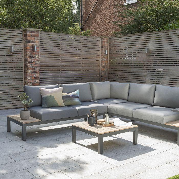 Kettler Elba Low Corner Sofa Lounge Set, Low Seating Furniture