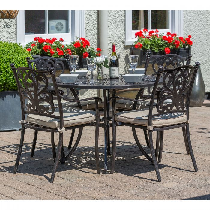 d11d47246052 Devon 4 Seat Dining Set with Horizon Parasol | Notcutts