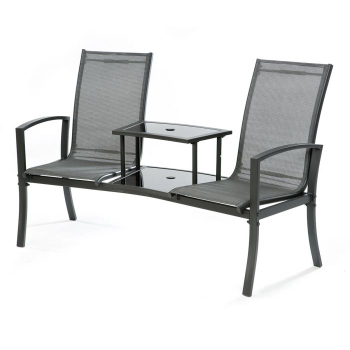 6dcd3adaa732 Cuba Double Garden Seat With Table   Notcutts