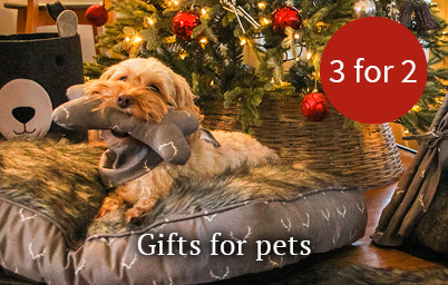 Christmas gifts for pets - 3 for 2