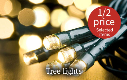 Christmas tree lights - Half price