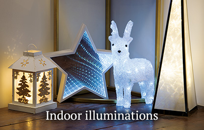 Christmas indoor illuminations
