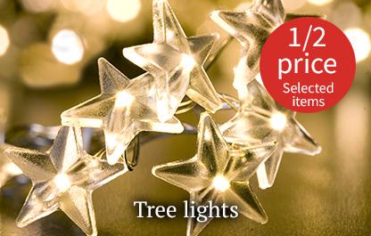 Christmas tree lights - Half price