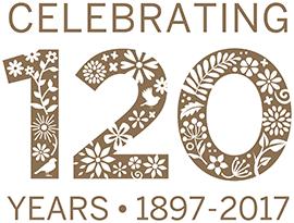 Celebrating 120 years 1897 - 2017