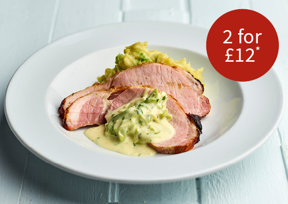 2 for £12 on our winter warmers menu
