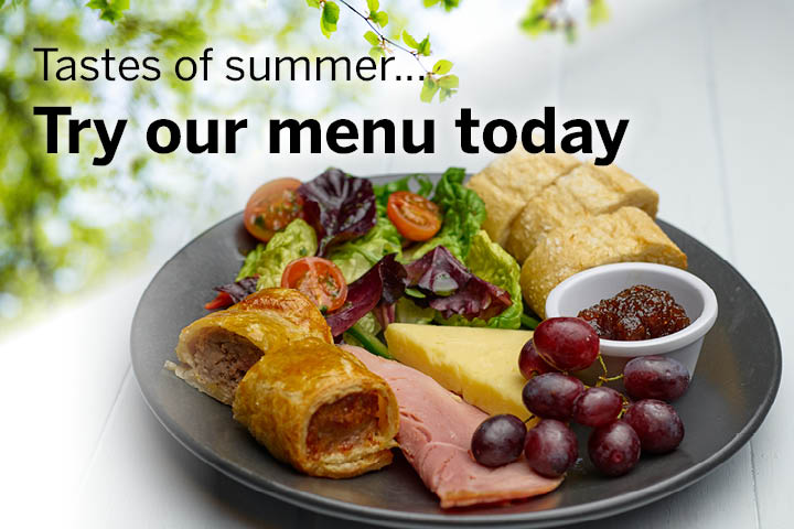 Tastes of summer - try our new menu today