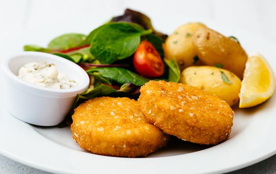 Gluten free Smoked Haddock Fishcakes