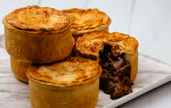 Steak and Cornish Doom Bar Ale Pie