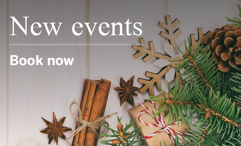Events - book now