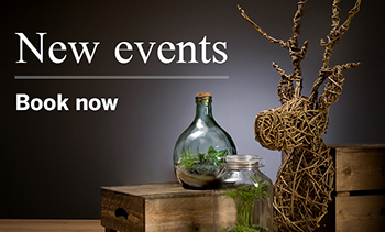 New events - book now