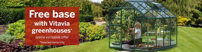 Free base with Vitavia greenhouses