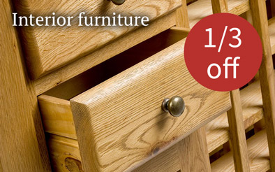 Interior furniture 1/3 off
