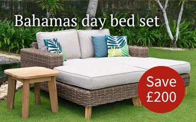 Bahamas day bed set - Save £200