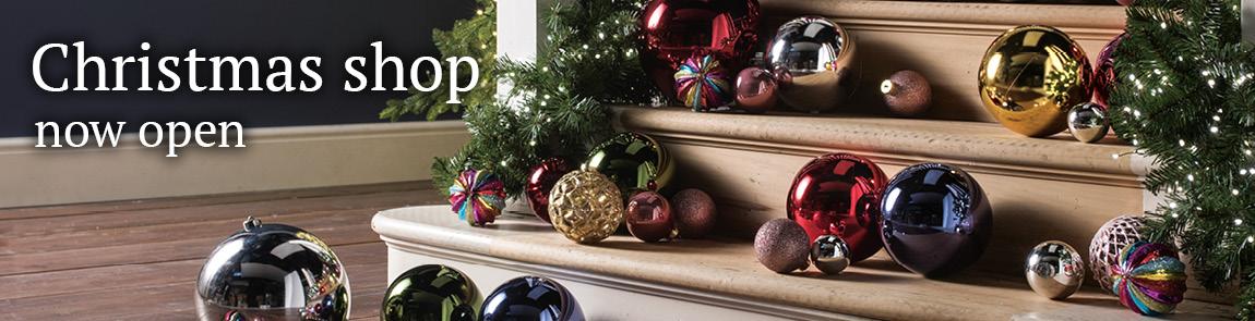 Christmas shop - now open