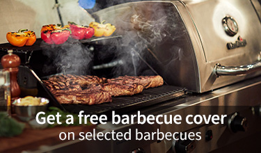 Free cover on selected barbecues