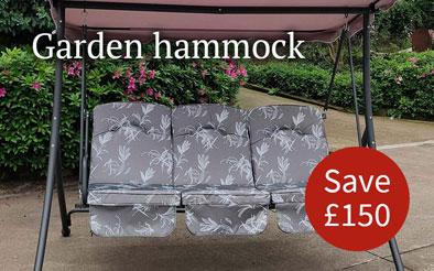 Garden hammock - Save £150