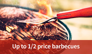 Up to a half price barbecues