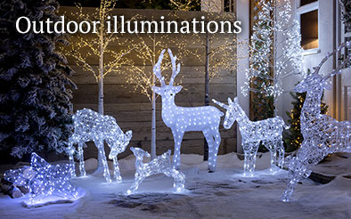Christmas outdoor illuminations