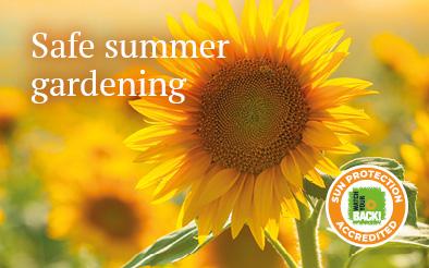 Safe summer gardening