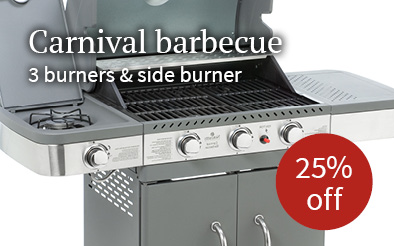 Notcutts Carnival barbecue - 25% off