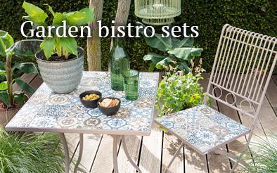 Garden bistro sets