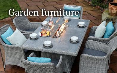 Garden furniture - fire pit dining sets