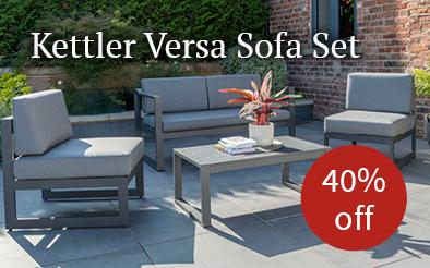 Kettler Versa sofa set - 40% off