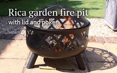 Rica garden firepit