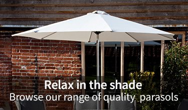 Browse our range of parasols