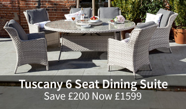 Save £200 Tuscany 6 Seat Dining Suite