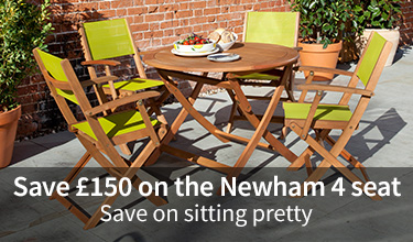 Save £150 on the Newham 4 seat suite