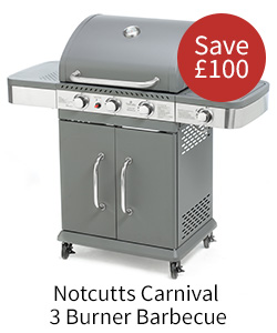 Save £100 on the Notcutts Carnival BBQ