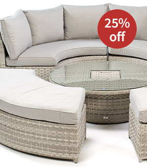 25% off Notcutts Catena Adjustable Round Sofa Set