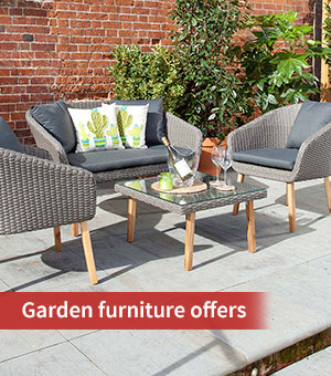 Garden furniture offers