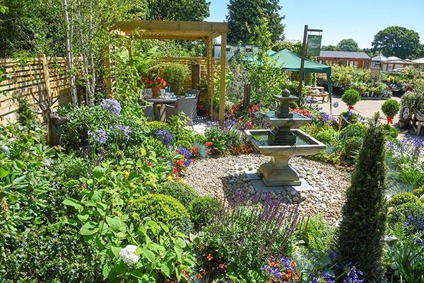 Garden Pride Garden Centre Show Garden