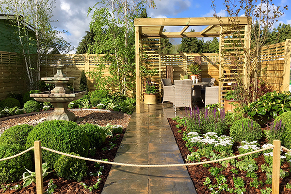 St Albans Garden Centre Show Garden