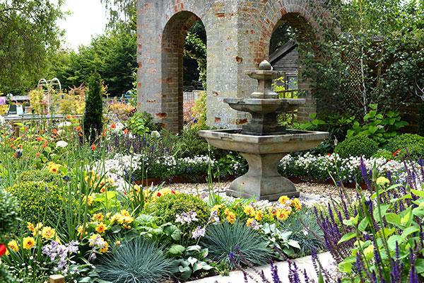 Woodbridge Garden Centre Show Garden