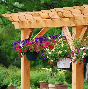 How to install an arbour or arch