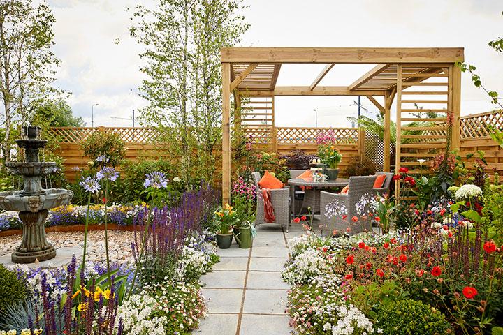Ashton Park Garden Centre Show Garden