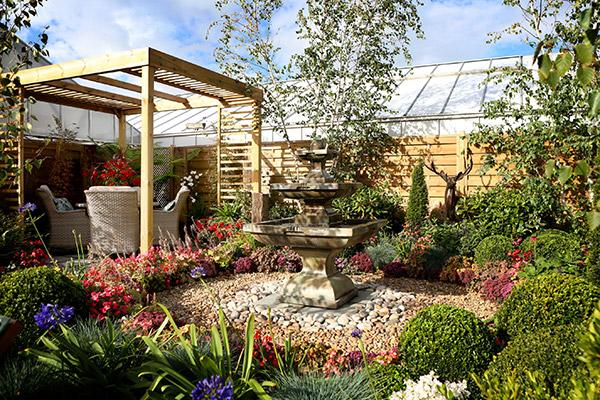 Rivendell Garden Centre Show Garden