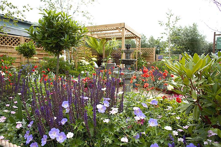Victoria Garden Centre Show Garden