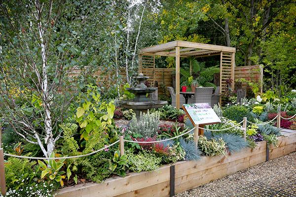 Woodford Park Garden Centre Show Garden